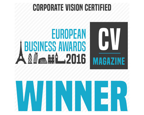 European Business Awards Certificate