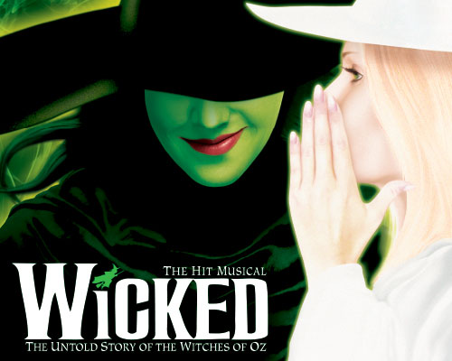 Wicked – UK Tour posters and billboards