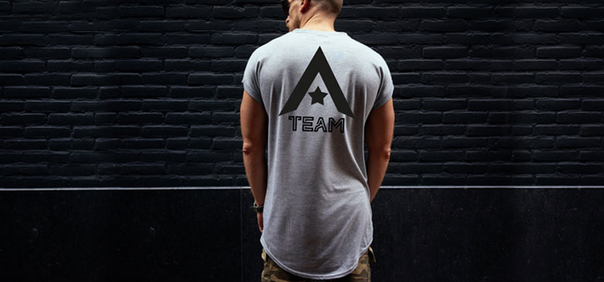 A TEAM - Aaron Smith Personal Training, Men T-shirt